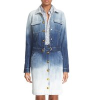Tomas Maier Ombre Wash Denim Jacket
