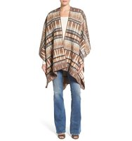 Woolrich Forest Ridge Wool Poncho