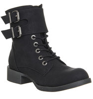 Blowfish Kami Ankle Boot Black Texas