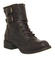 Blowfish Kami Ankle Boot Brown Texas