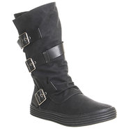Blowfish Orlando Calf Boot Black Texas
