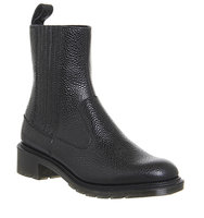 Dr Martens Eleanore Chelsea Boot Black Stone Leather