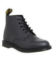 Dr Martens Emmeline Lace Up Boot Black Pebble Exclusive