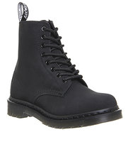Dr Martens Pascal Fur Lined Boot Black Leather