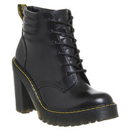Dr Martens Persephone Lace Boot Black Buttero Leather