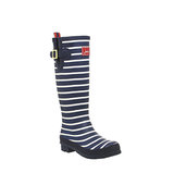 Joules Welly Print Navy Red Stripe