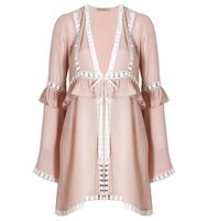For Love And Lemons Emmy Robe Blush