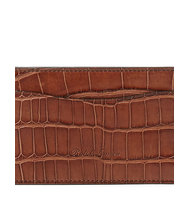 Ralph Lauren Burnished Alligator Card Case
