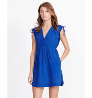 Ralph Lauren Cotton V Neck Cover Up