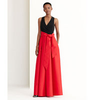 Ralph Lauren Dual Toned Ballgown Red Black