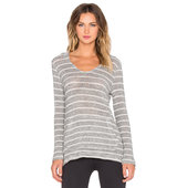 Beyond Yoga Chenille Poncho Hoodie in Gray