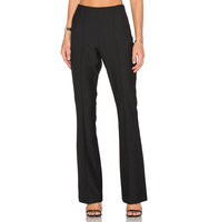 OLCAY GULSEN Bootcut High Waist Pant in Black