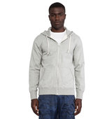 Reigning Champ Core Full Zip Hoodie in gray