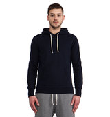 Reigning Champ Core Pullover Hoodie in Navy