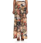 Alice And Olivia Printed Wide Leg Pants