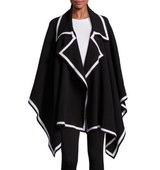 Burberry Knit Wool Cashmere Blend Poncho