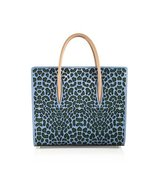 Christian Louboutin Paloma Large Laser Cut Leopard Leather Tote