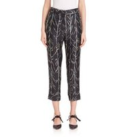 Proenza Schouler Straight Silk Pants