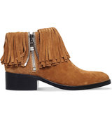 31 Phillip Lim Alexa Fringed Suede Boots Tan