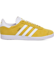 Adidas Gazelle Suede Trainers Eqt yellow white