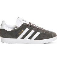 Adidas Gazelle Suede Trainers Solid grey white