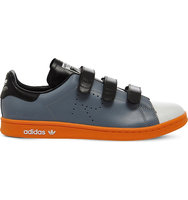 Adidas X Raf Simons Raf X Stan Smith Colour Block Trainers Grey white pumpkin