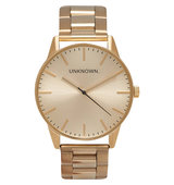 Classic Gold Toned Stainless Steel UN15TC15 Watch stainless steel
