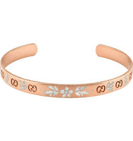 Gucci Icon Blossom 18ct Rose Gold Bracelet gold