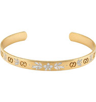 Gucci Icon Blossom 18ct Yellow Gold Bracelet yellow