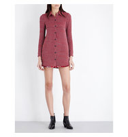 Maje Riley Tweed Dress Jacquard