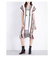 Ulla Johnson Elena Alpaca Poncho Dress Snow