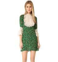 Anna Sui Paper Flower Lace Dress