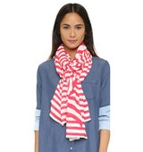 Kate Spade New York Painterly Bow Oblong Scarf