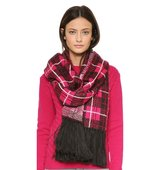 Kate Spade New York Woodland Plaid Scarf