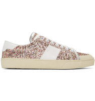 Saint Laurent Multicolor Court Classic Sl 37 Surf Glitter Sneakers
