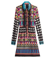 Anna Sui All You Need Is Love Shirtdress