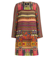 Etro Embroidered And Embellished Cotton Coat