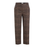 Sonia Rykiel Alpaca Wool Glen Plaid Pants