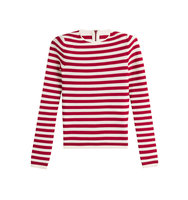 Sonia Rykiel Striped Pullover With Zip Back