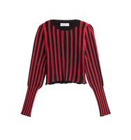 Sonia Rykiel Striped Rib Sweater