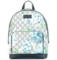 Backpack With Bloom Print