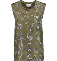 31 Phillip Lim 31 Phillip Lim Floral print Silk twill Top Army green