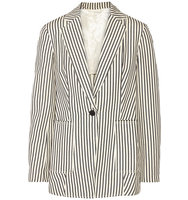 31 Phillip Lim 31 Phillip Lim Striped Canvas Blazer Ivory