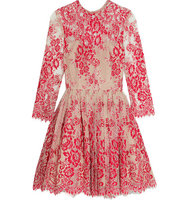 Alexis Alexis Bella Embroidered Tulle Mini Dress