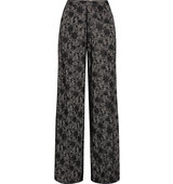 Alice Olivia Lace wide leg pants