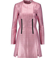Carven Carven Jacquard Mini Dress Pink