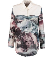 Carven Carven Printed Silk Blouse Multi