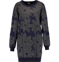 DKNY DKNY Intarsia knit Sweater Navy