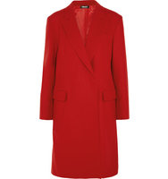 DKNY DKNY Wool blend Felt Coat Red