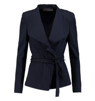 Donna Karan New York Donna Karan New York Belted Crepe Jacket Navy